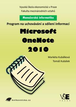 OneNote - Univerzita třetího věku VŠE v Praze