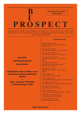 bi opr spect - Biotechnologická společnost