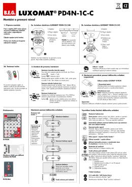 LUXOMAT® PD4N-1C-C