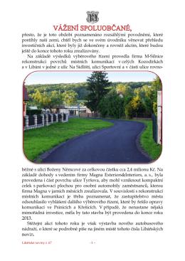 Libáňské noviny č. 67