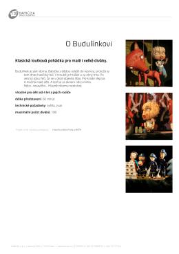 O Budulínkovi - Studio Damúza
