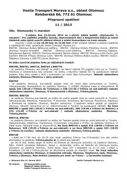 Connex Morava a