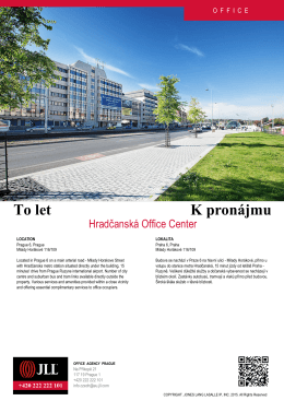 Hradčanská Office Center