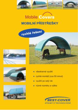 Mobile Covers - mobilní přístřešky (PDF)