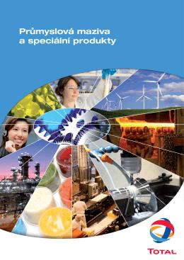 Průmyslová maziva a speciální produkty