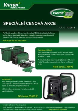 Speciální cenová akce - ARC