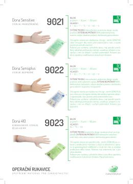 speciální Operační rukavice