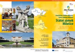 Státní zámek Milotice - Top výletní cíle jižní Moravy