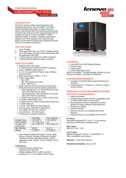 LENOVOEMC™ PX4-400D