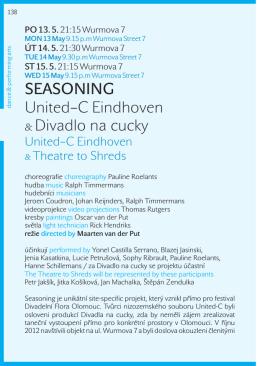SEASONING United–C Eindhoven & Divadlo na