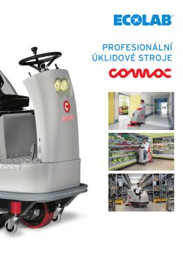 Profesionální úklidové stroje COMAC
