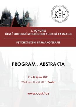 PROGRAM a ABSTRAKTA - Česká odborná společnost klinické