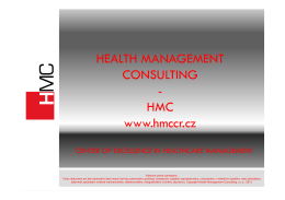 HEALTH MANAGEMENT CONSULTING