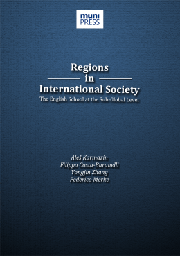 Regions in International Society The English School