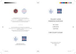 Výkladový slovník Kybernetické bezpečnosti Cyber Security