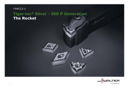 Tiger·tec® Silver - ISO P Generation The Rocket