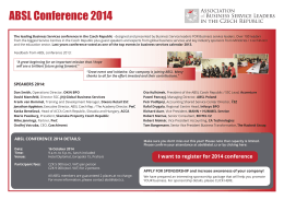 ABSL Conference 2014