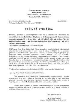 Úřad městské části města Brna - Královo Pole
