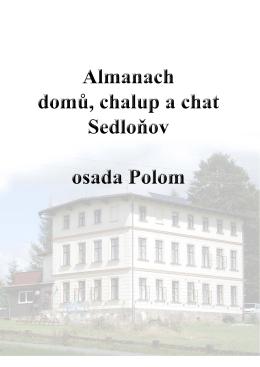 Almanach Polom - Obec Sedloňov