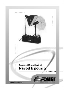 Basic - 400 studiový kit