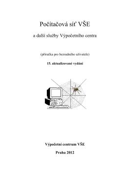 Počítačová síť VŠE - Výpočetní centrum