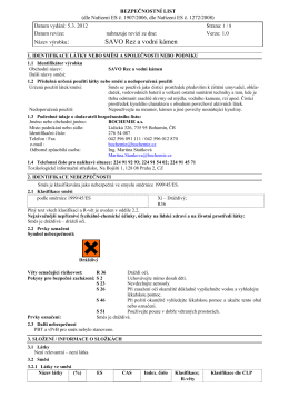 MSDS-SAVO Rez a vodní kámen _3