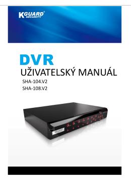 UŽIVATELSKÝ MANUÁL - eD` system Czech, as