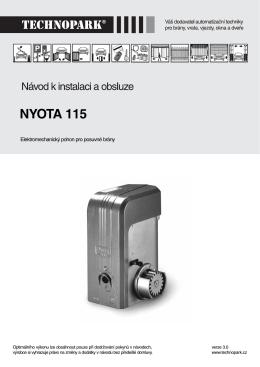NYOTA 115 - TECHNOPARK.CZ