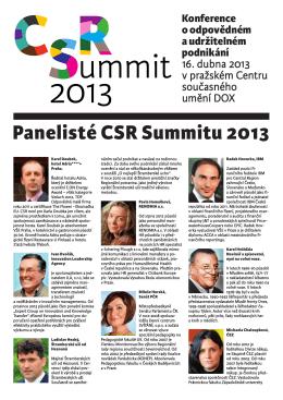 zde. - CSR Summit 2014