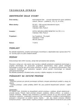 Příloha k dodatečné informaci č. 2 - Technická zpráva