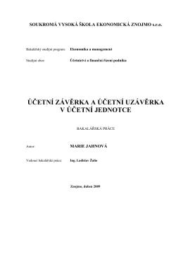 Účetní závěrka a účetní uzávěrka v účetní jednotce.pdf