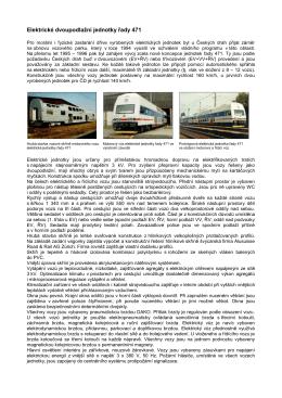 Elektrické dvoupodlažní jednotky řady 471