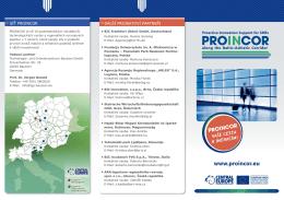 PROINCOR Faltblatt tschechisch k1.indd