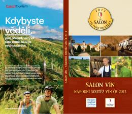 Katalog Salonu vín ČR ročník 2013 (PDF, 14,9 MB)