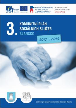 3. komunitní plán sociálních služeb Blansko 2013