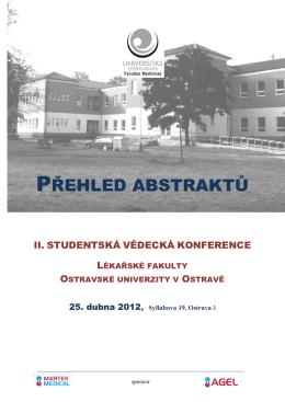 Přehled abstraktů II. SVK LF OU