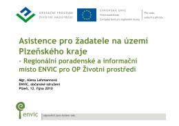 Asistence pro žadatele na území Plzeňského kraje