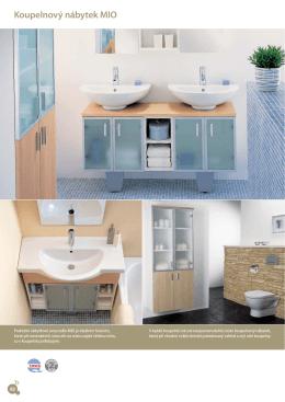Koupelnový nábytek MIO