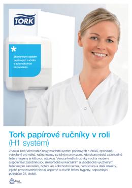 Tork papírové ručníky v roli (H1 systém)