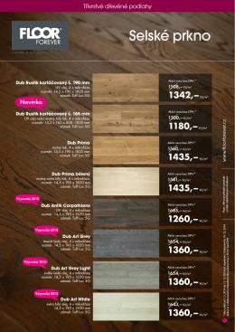 Vrstvené podlahy