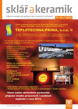 Sklář a keramik 11-12/2013