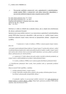 Č. j. 45696-5/2013-9000000-231 c: Provozování mobilních