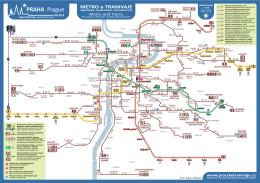 Orientační mapa trvalého stavu denního provozu