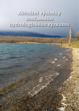 III/2010 Mimořádné číslo - Výzkumný ústav vodohospodářský T. G.
