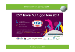 ESO travel VIP golf tour 2014