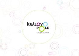Informační brožura NCKP - Nákupní centrum Královo Pole