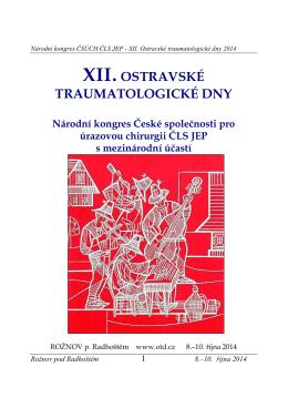 Program - Česká společnost pro úrazovou chirurgii