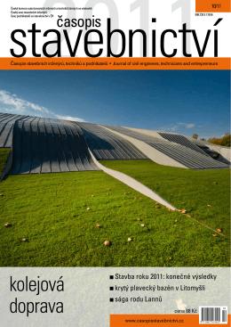 kolejová doprava - Časopis stavebnictví