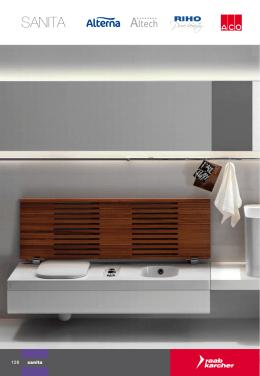 Sanita - baterie, sprchy, vany, WC apod.