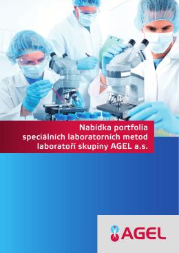 Nabídka portfolia speciálních laboratorních metod